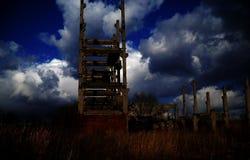 stokehold的废墟 库存图片