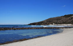 Stokes  Bay Kangaroo Island South Australia. A view from the beach of Stokes Bay Royalty Free Stock Photos