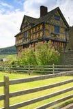stokesay的城堡 免版税库存图片