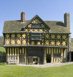 Stokesay castle. Fortified manor house stokesay castle Royalty Free Stock Photography