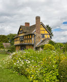 Stokesay Castle Gatehouse Stock Photography