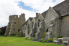 Stokesay Castle Hall and South Tower. Shropshire England Royalty Free Stock Photography