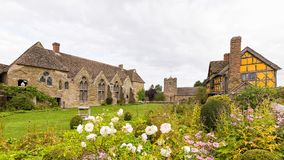 Stokesay Castle, Shropshire, England. Royalty Free Stock Photography