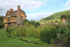 Stokesay kasztel, Średniowieczny rezydencja ziemska dom Fotografia Stock