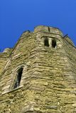 Stokesay Schloss stockfotografie