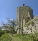 stokesay slott Royaltyfri Fotografi