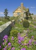 stokesay slott fotografering för bildbyråer