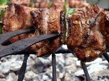 Stokken van vlees royalty-vrije stock afbeelding