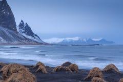 Stokksnes, Islande du sud Photographie stock