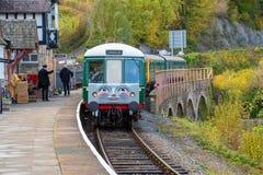 Stokrotka oleju napędowego pociąg, część Thomas Cysternowy silnik fotografia royalty free