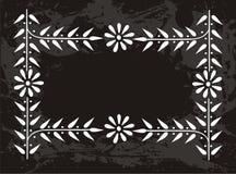 Stokrotki kwiatu granica royalty ilustracja