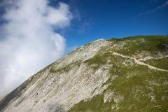 Stol山,斯洛文尼亚 免版税库存图片