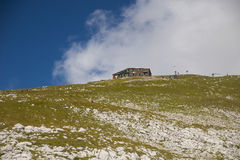 Stol山,斯洛文尼亚 免版税库存照片