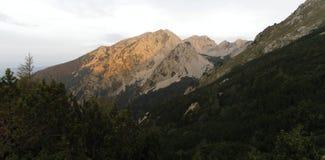 Stol (2236) in Karawansken in Slovenia. Near Austrian border Stock Photography