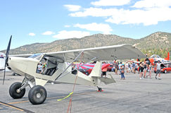 STOL Aircraft. This home-built airplane is designed for rugged use where landings are made on short, dirt runways or on grassy fields. STOL stands for Short Take Royalty Free Stock Image