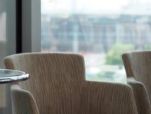 Stol för lobbyvardagsrumplats i modern minsta vindstil Royaltyfria Bilder
