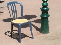 Stol i solen royaltyfri foto