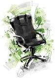 stol isolerat kontor Arkivfoton