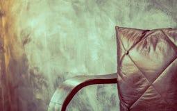 Stol nära (filtrerad bilden bearbetad tappningeffekt ), Royaltyfri Fotografi