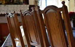 Stol och tabell av rummet Royaltyfria Bilder