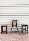 Stol och teble Royaltyfri Fotografi