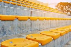 Stol på stadion Royaltyfri Foto