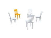 stolar vektor illustrationer