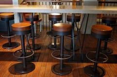 Stolar för rund stång Arkivbilder