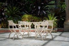 Stolar och bordlägger Royaltyfri Fotografi