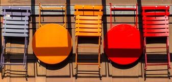 Stolar och tabeller Royaltyfria Foton