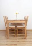 stolar som dinning tabellen Arkivfoton