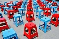 Stolar som gör en modell Royaltyfri Foto