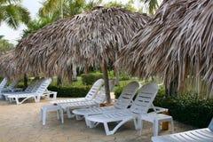 stolar varar slö semesterorten Fotografering för Bildbyråer