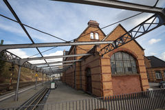 Stolberg rheinland germany train station. The stolberg rheinland germany train station Stock Image
