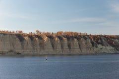 Stolbichi op Volga Royalty-vrije Stock Afbeeldingen