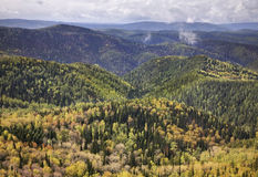 Stolby Nature Sanctuary. Sayan mountains. Russia Royalty Free Stock Images