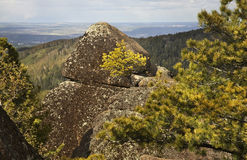 Stolby Nature Sanctuary. Sayan mountains. Russia Royalty Free Stock Image