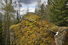 Stolby Nature Sanctuary. Sayan mountains. Russia Royalty Free Stock Photos