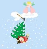 Stole van Cherie Boom vector illustratie