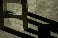 Stolen är under solljusen fotografering för bildbyråer