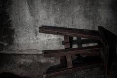 Stolen är under solljusen arkivfoto