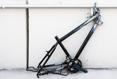 Stolen Bicycle Parts Stock Images
