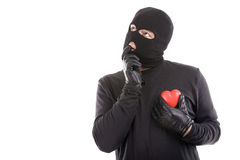 Stolen heart Royalty Free Stock Images