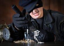 Stolen loot Stock Image