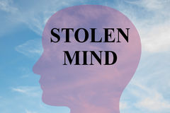 Stolen Mind concept Royalty Free Stock Photography