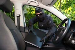 Stolen personal belongings Stock Photo