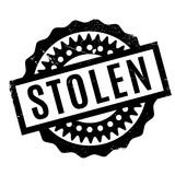Stolen rubber stamp Stock Photo