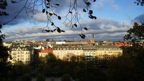 Stolgolm-Ansicht Stockbild
