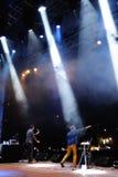 Stolica zespół wykonuje przy Madryt Obraz Royalty Free