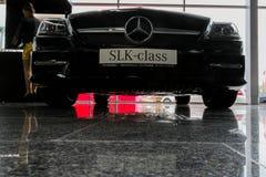 Stolichnoe Auto toont 2013 in Kiev royalty-vrije stock afbeeldingen